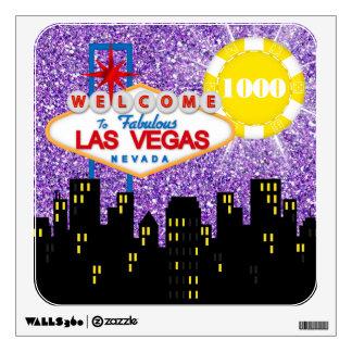 Vegas Party/ Casino Nights / Entertainment  - SRF Room Decals