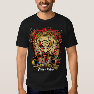 Vegas Party Joker Poker  Any Event View Notes Shirt