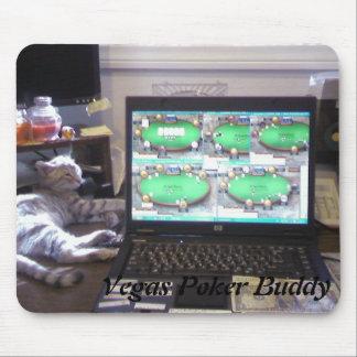 Vegas Poker Buddy Mousepod Mouse Pads