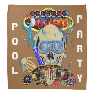 Vegas Pool Parties Important View About Design Bandana