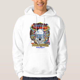 Vegas Pool Party Skinny Dippin V-3  View Notes Hoodie