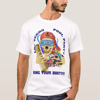 Vegas Pool Pirate IMPORTANT Read About Design T-Shirt