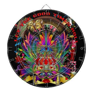 Vegas Queen Dartboard With Darts
