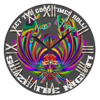 Vegas Queen Please view artist comments below Wall Clock