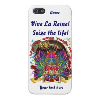 Vegas Queen Please view artist comments below iPhone SE/5/5s Case