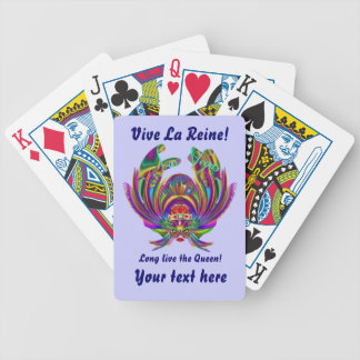 Vegas Queen Please view artist comments below Bicycle Playing Cards