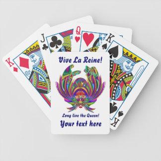 Vegas Queen Please view artist comments below Bicycle Poker Deck