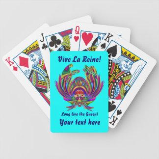Vegas Queen Please view artist comments below Bicycle Card Deck