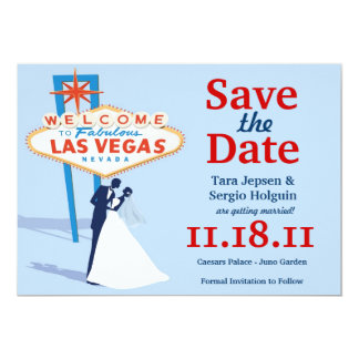 Vegas Save the Date! Card