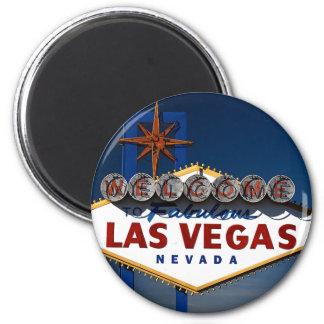 Vegas Sign Dusk Magnet