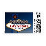 Vegas Sign Dusk Stamps