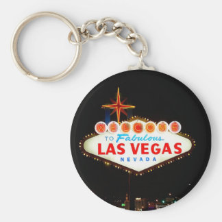 Vegas Sign Lit Up Keychain