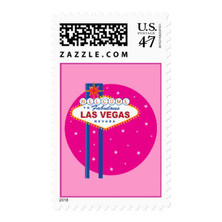 Vegas Sign Postage