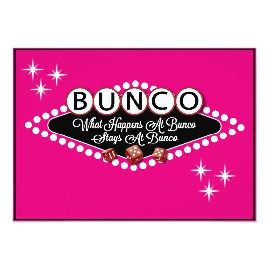 Vegas Style Bunco Invite Zazzle Com