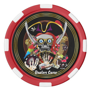Vegas Style Set 4 From Dae More Comming Poker Chips at Zazzle