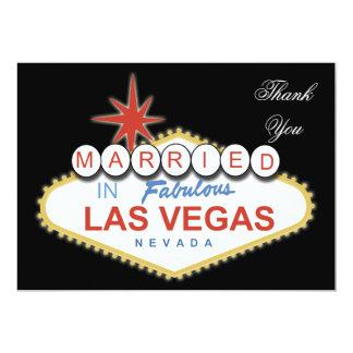 Vegas theme Thank You Card Announcements