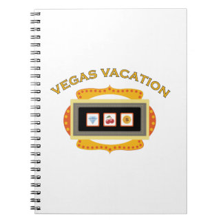 Vegas Vacation Notebook
