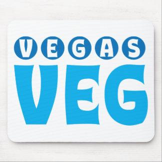 Vegas Veg logo items Mouse Pad