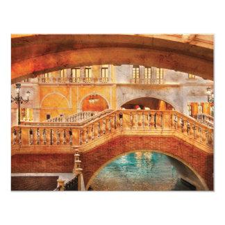 Vegas - veneciano - arcos invitacion personalizada