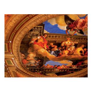 Vegas - veneciano - el techo tarjetas postales