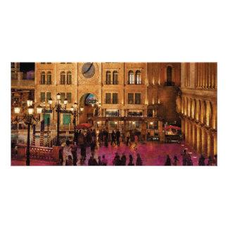 Vegas - Venetian - Entrance Customized Photo Card