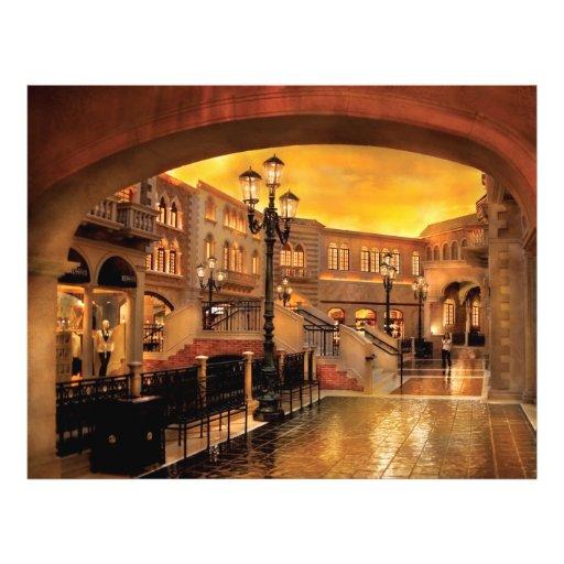 Vegas - Venetian - The streets of Venice Flyer