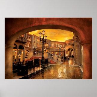 Vegas - Venetian - The streets of Venice Posters