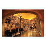 Vegas - Venetian - The streets of Venice Personalized Stationery