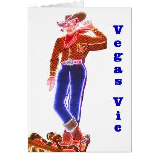 VEGAS VIC Fun Card