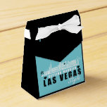"""Vegas Wedding Gift Ideas - Favor Boxes Teal<br><div class=""""desc"""">Your source for Las Vegas wedding gift ideas. If you are planning a unique Las Vegas wedding and looking for wedding favors to remember your special day then this Vegas Bride tote bag is perfect for the occasion. Order it for your Las Vegas wedding favors and give your guests a...</div>"""