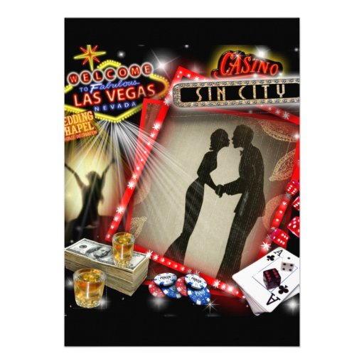Vegas Wedding Invites