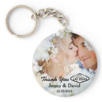 Vegas Wedding Personalized Key Ring Wedding Favor