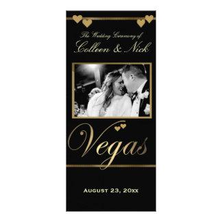 Vegas Wedding Program Template