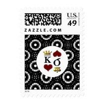 Vegas  wedding stamps