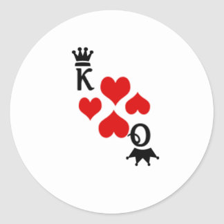 Vegas wedding sticker