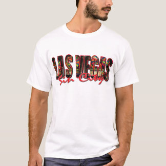 VEGAS WORD and Sin City T-Shirt