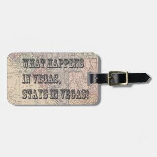 VegasVacation Luggage Tag