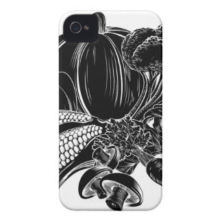 Vegatables food icon iPhone 4 cover