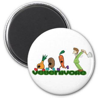 Vegenivore 2 Inch Round Magnet