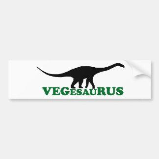 Vegesaurus Pegatina Para Auto