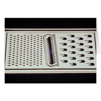 Vegetable and cheese grate greeting card