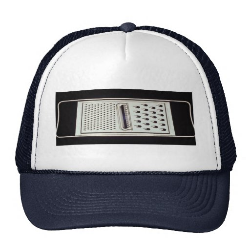 Vegetable and cheese grate trucker hat