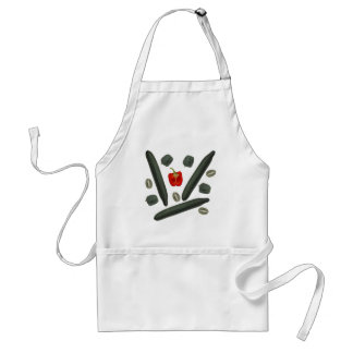 Vegetable and fruit apron