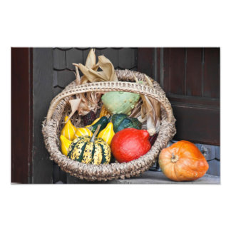 Vegetable Basket Art Photo