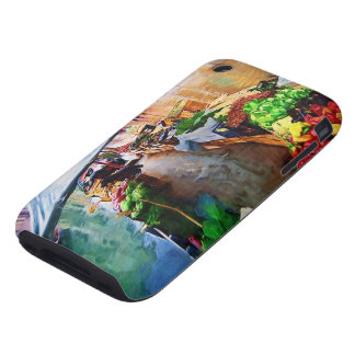 Vegetable Boat Venice Italy Tough iPhone 3 Cover
