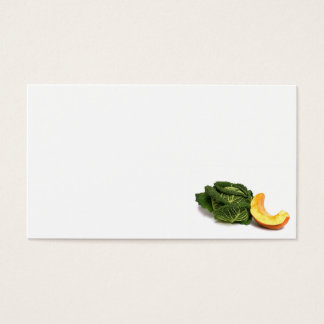 vegetable business card
