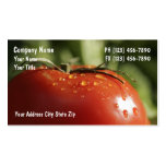 Vegetable Business Cards