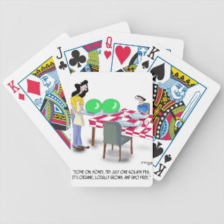 Vegetable Cartoon 9269 Bicycle Playing Cards