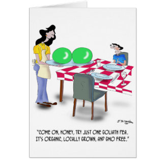 Vegetable Cartoon 9269 Card