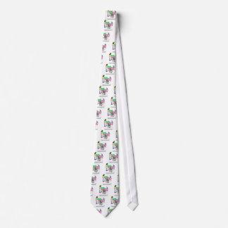 Vegetable Cartoon 9269 Neck Tie